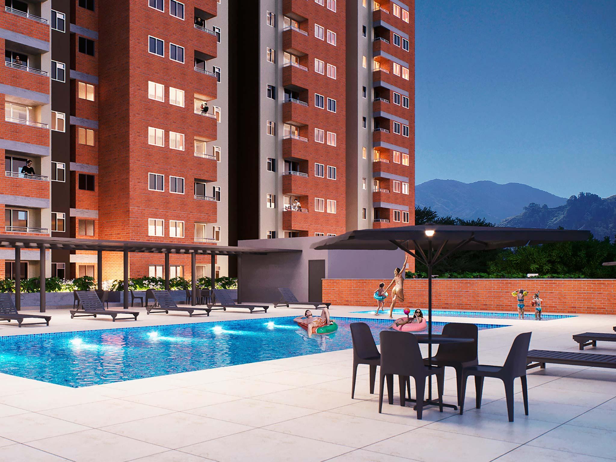 Reserva del Parque Proyecto de apartamentos en venta en Itagui - Medellin