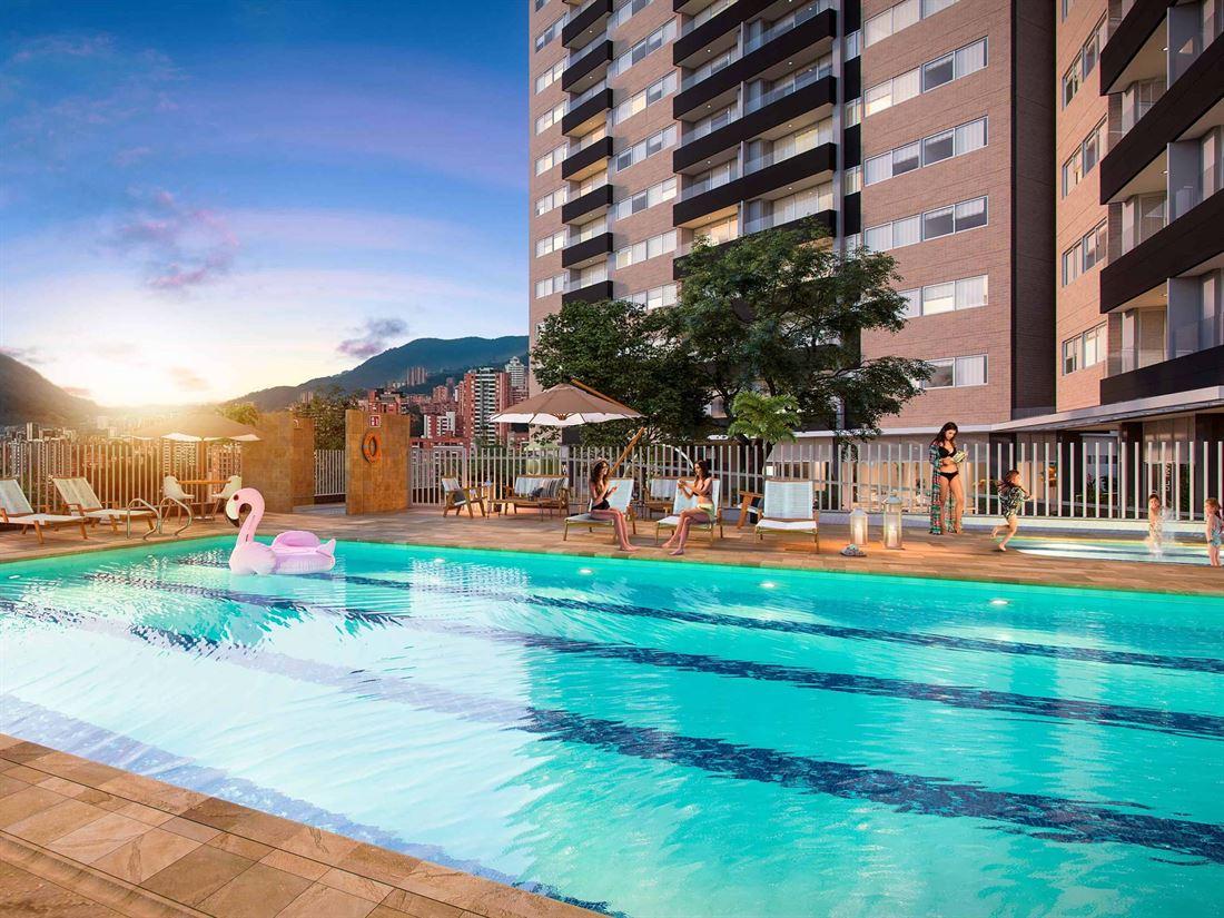 AGUA -Proyecto de apartamento en venta en Envigado