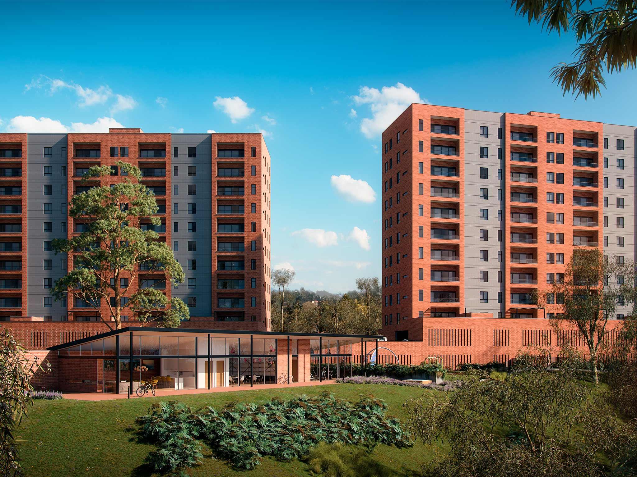 EUCALIPTO - Proyecto de apartamentos en venta en Rionegro