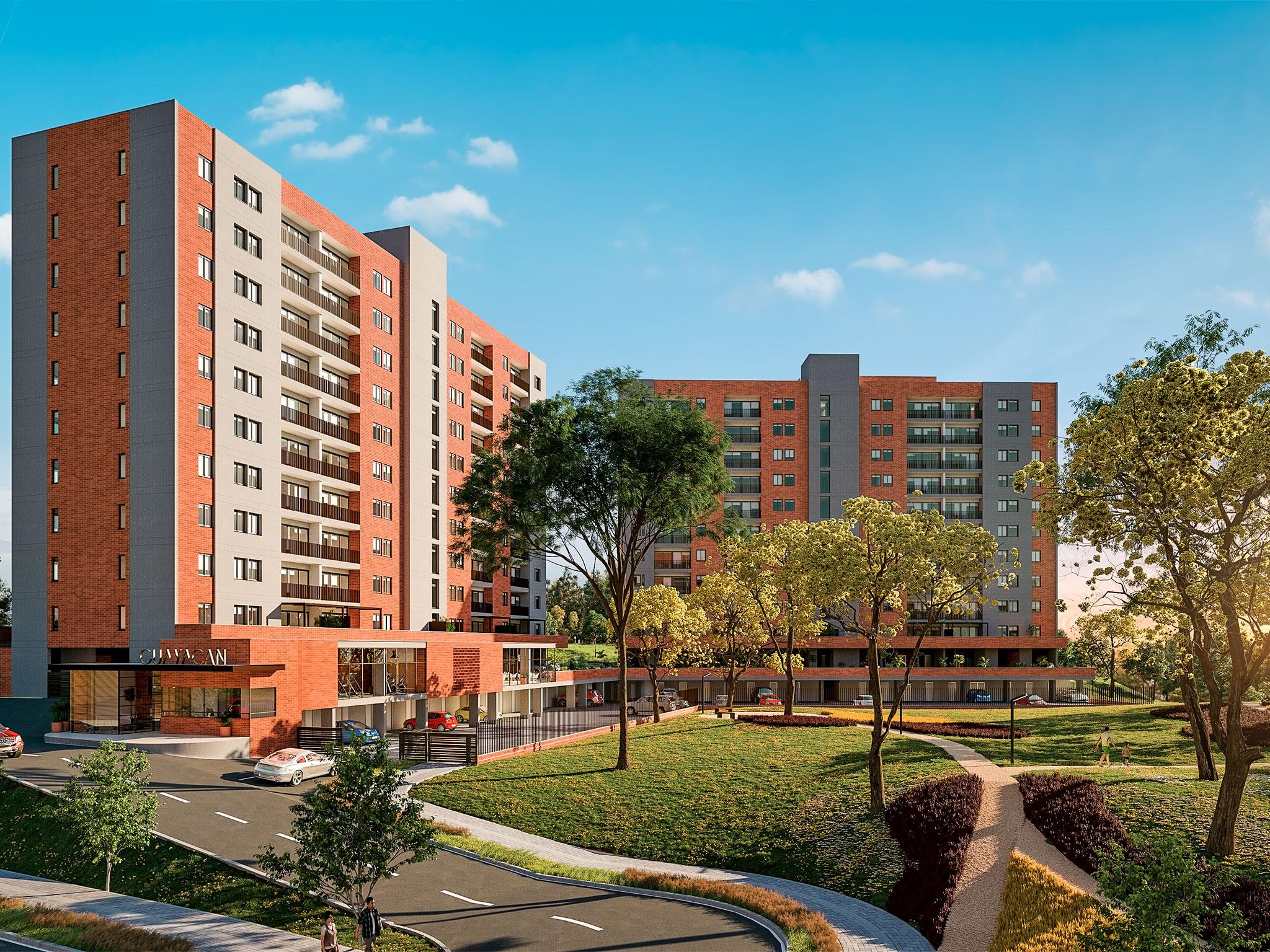 GUAYACAN - Proyecto de apartamentos en venta en Rionegro