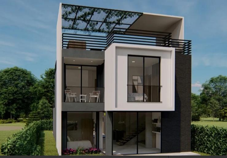 Casa Nueva con Estilo Moderno en venta en Santa Fe de Antioquia