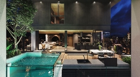 Spectacular apartment with pool in Medellin