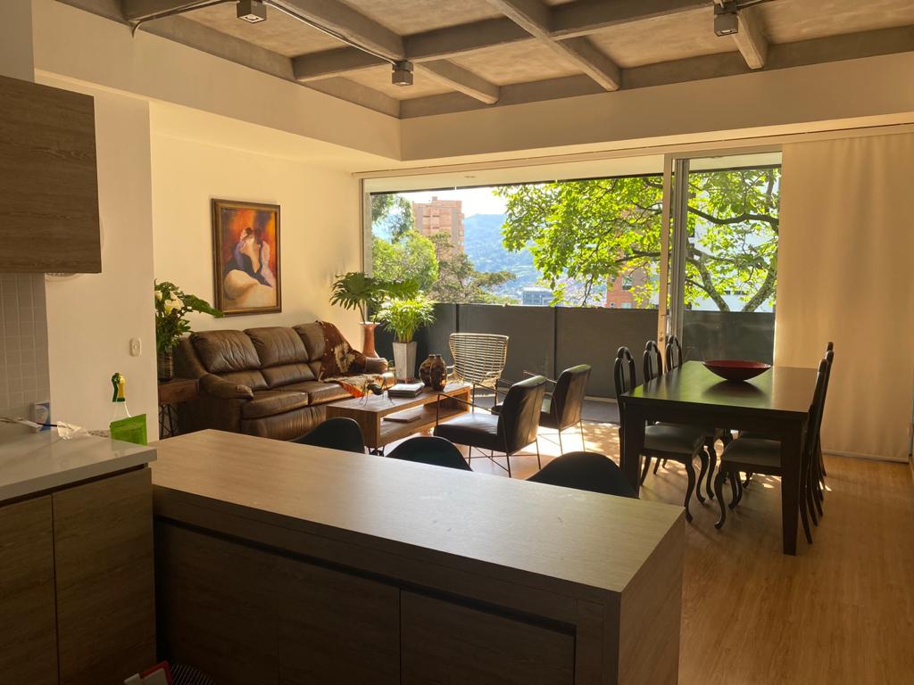 Acogedor apartamento en venta Poblado loma los parra