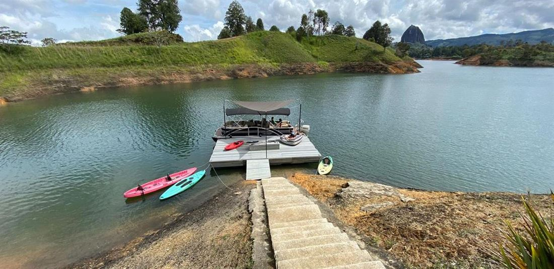 Unique country house in Guatape