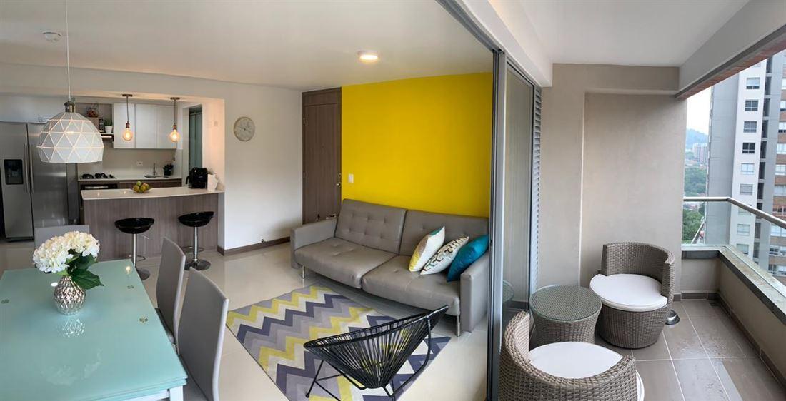 Lujoso apartamento en venta Envigado camino verde