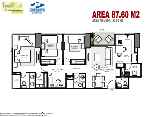 TIERRA GRATA - Proyecto de apartaestudios y apartamentos en LAS PALMAS